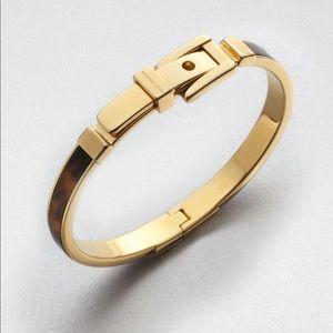 Michael Kors Tortoiseshell Buckle Bracelet
